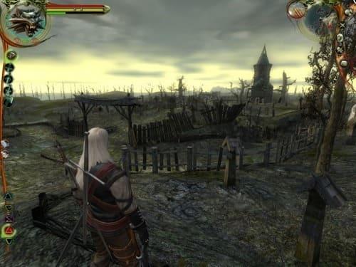 The Witcher обзор геймплея