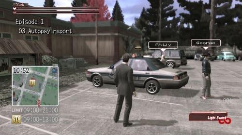 Deadly Premonition геймплей