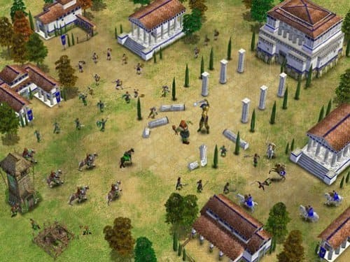 Age of Mythology геймплей