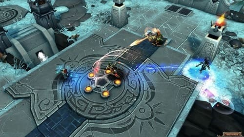 Bloodline Champions геймплей