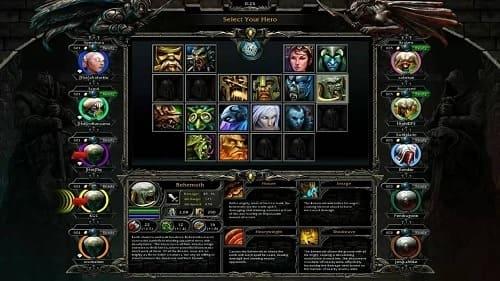 Heroes of Newerth (HoN) геймплей
