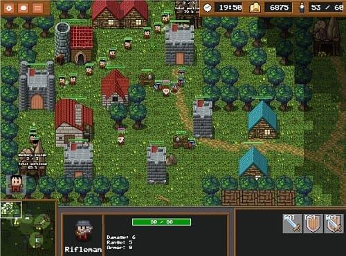 Littlewargame геймплей 2