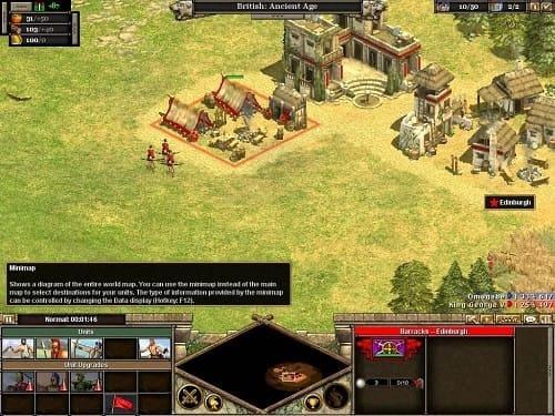 Rise of Nations геймлей