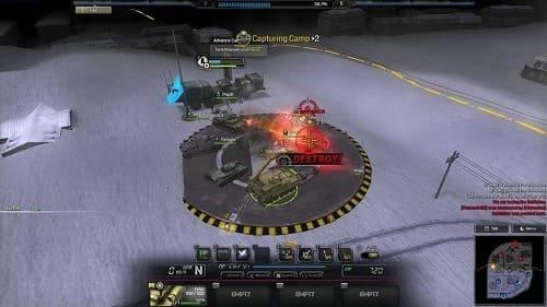 Battleline: Steel Warfare геймплей