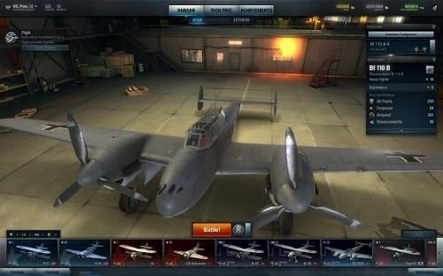 World of Warplanes геймплей