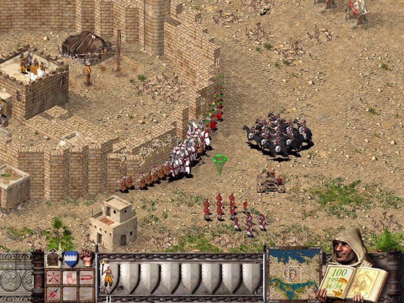 Обзор на Stronghold Crusader