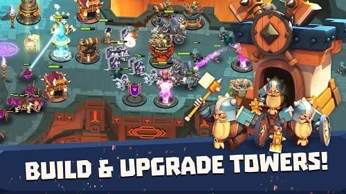Обзор игры Castle Creeps TD