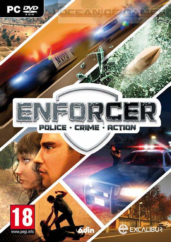 Обзор игры Enforcer: Police Crime Action