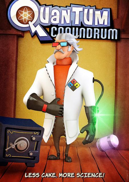 Обзор игрыQuantumConundrum