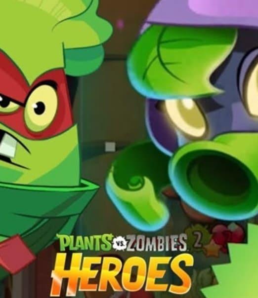 Обзор игры Plants vs Zombie Heroes