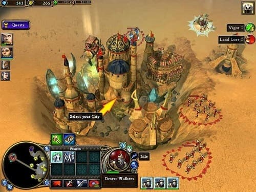 Обзор игры Rise of Nations: Rise of Legends