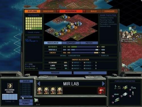 Обзор игры Alpha Centauri