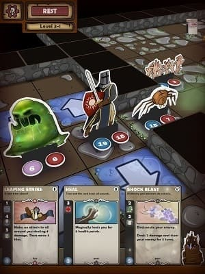 Обзор игры Card Dungeon