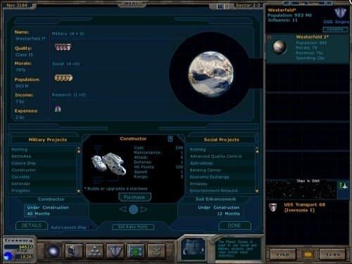 Обзор игры Galactic Civilizations