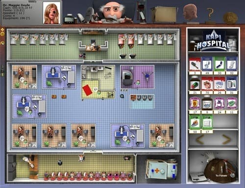 Обзор игры Kapi Hospital