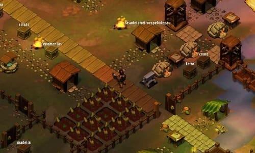 Обзор игры Krafteers Tomb Defenders