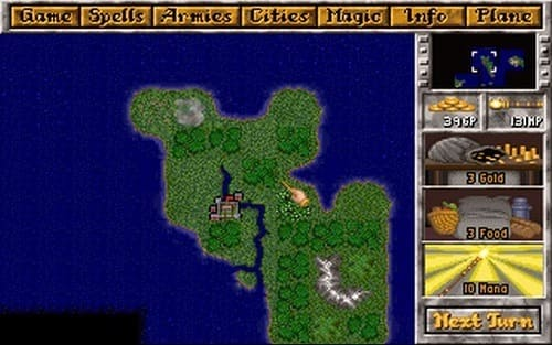 Обзор игры Master of Magic