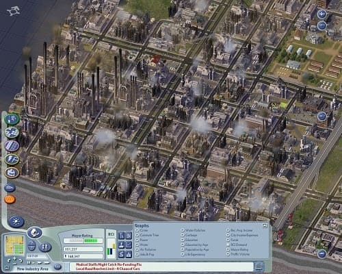 Обзор игрыSimCity4