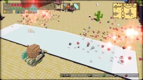 Обзор игры 3D Dot Game Heroes