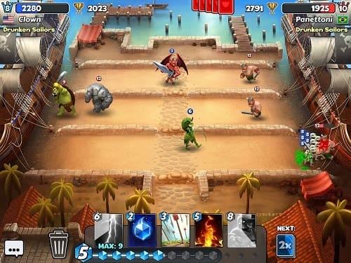 Обзор игры Castle Crush: Epic Strategy