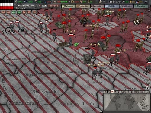 Обзор игры Hearts of Iron III