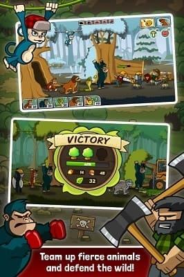 Обзор игры Lumberwhack: Defend the Wild