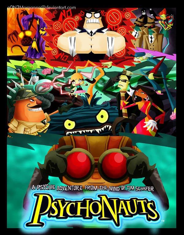Обзор игры Psychonauts