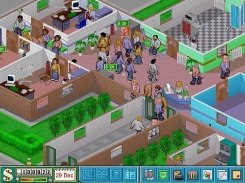 Обзор игры Theme Hospital