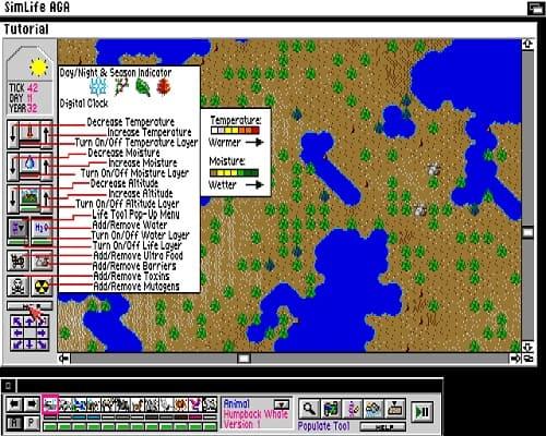 Обзор игры SimLife: Genetic Playground