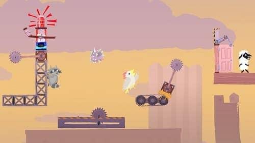 Обзор игры Ultimate Chicken Horse