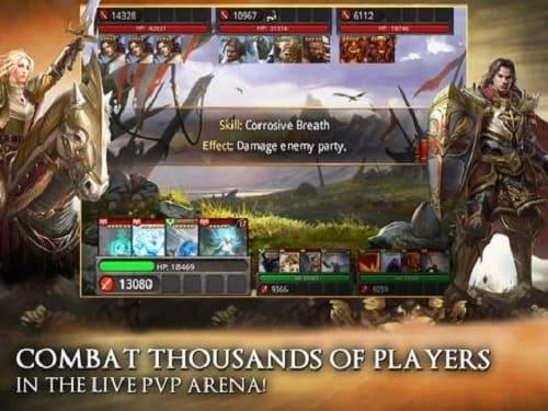 Обзор игры Heroes of Camelot