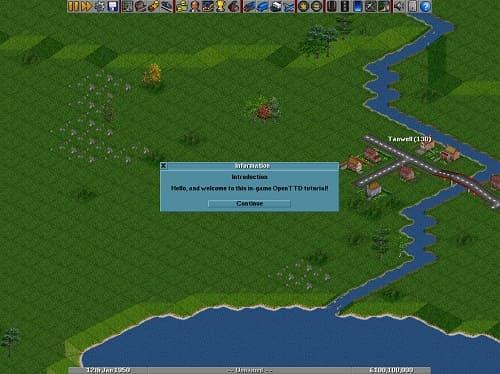 Обзор игры OpenTTD