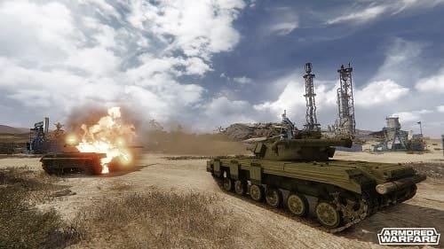 Обзор игры Armored Warfare