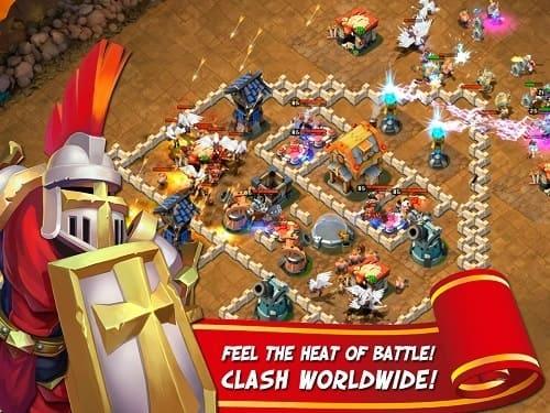 Обзор игры Castle Clash