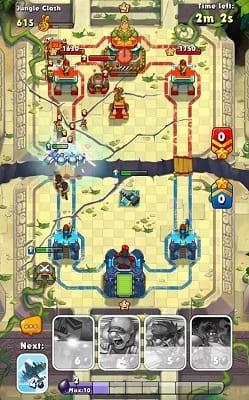 Обзор игры Jungle Clash