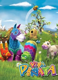 Обзор игры Viva Pinata