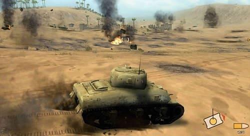 Обзор игры Panzer Elite Action
