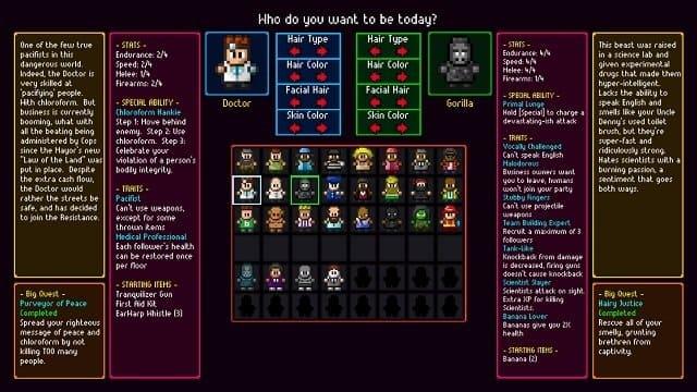 Обзор игры Streets of Rogue