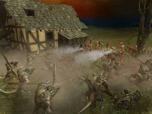 Обзор игры Warhammer: Mark of Chaos