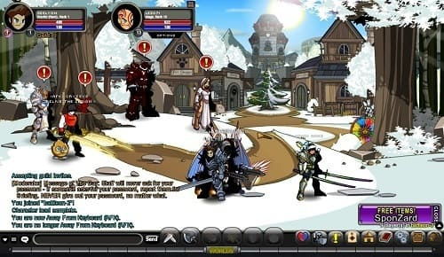Обзор игры AdventureQuest Worlds