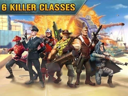 Обзор игры Blitz Brigade