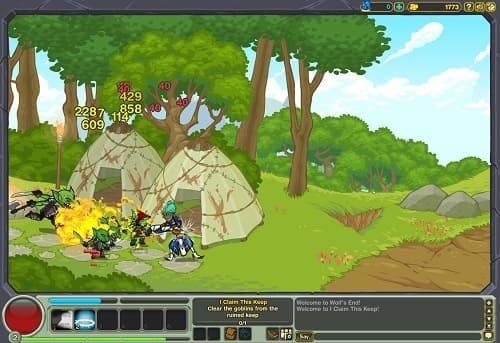 Обзор игры Dungeon Blitz
