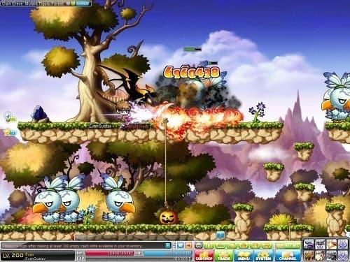 Обзор игры MapleStory