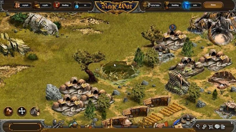 Обзор игры Rage War