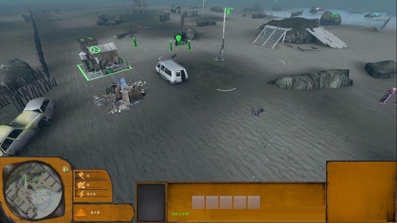 Обзор игры Lambda Wars