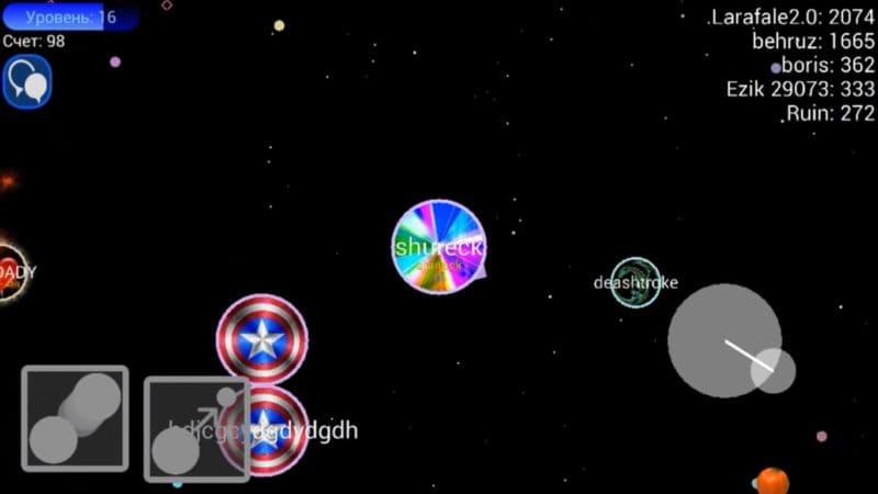 Обзор игры Nebulous