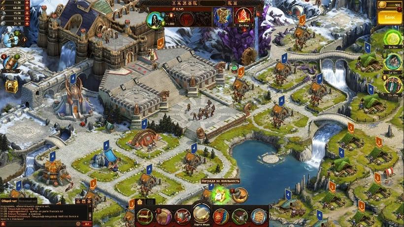 Обзор игры Vikings: War of Clans