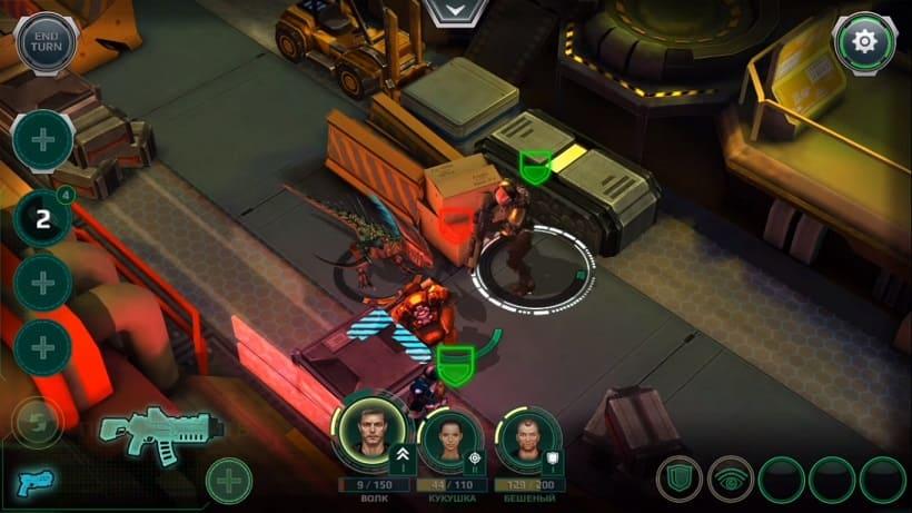 Обзор игры X-Mercs