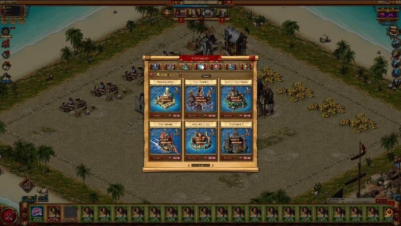 Обзор игры Pirates: Tides of Fortune
