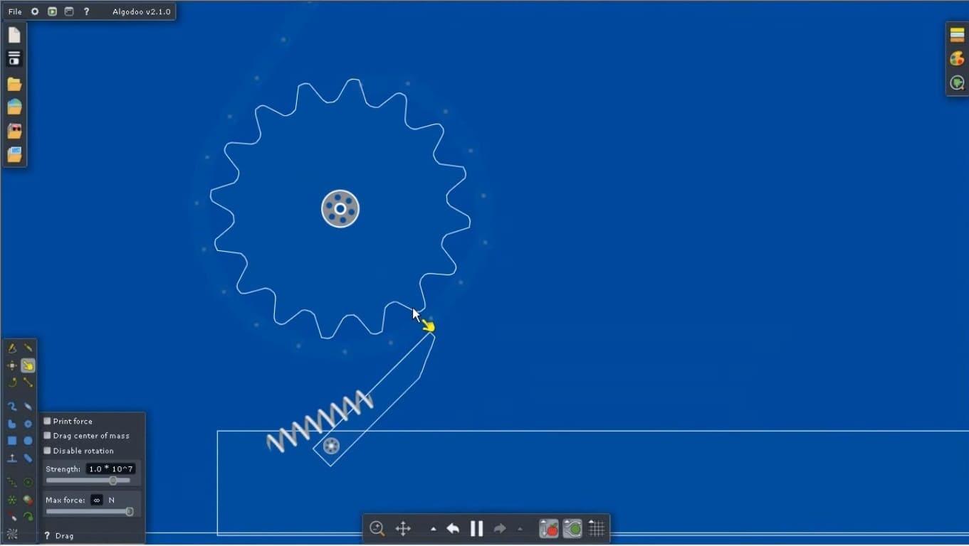Обзор игры Algodoo
